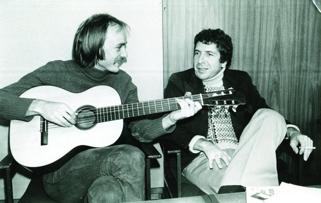 Deuter with Leonard Cohen